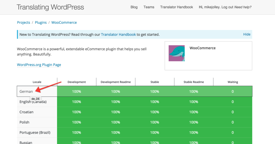 Vertalen WordPress