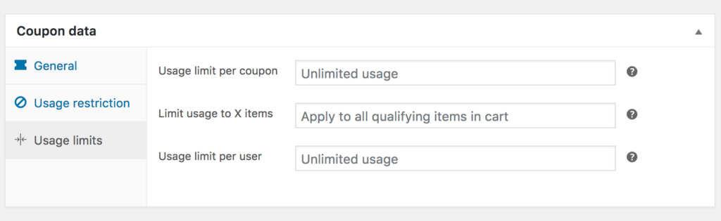 WooCommerce-coupons-data-usage-limits